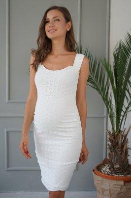 Платье для беременных 4252077 белое