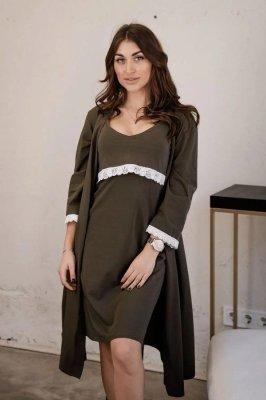 Комплект для беременных и кормления 4299041 хаки