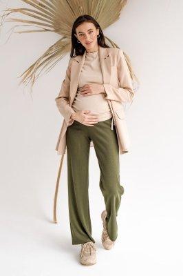 Штани для вагітних 4306138-1 хакі