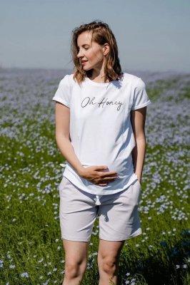 Шорты для беременных 4330262 лавандовый