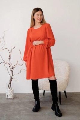 Сукня для вагітних і годуючих 4369224 помаранчева