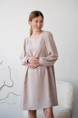 Сукня для вагітних і годуючих 4369224 сіра