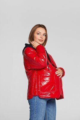Куртка для беременных Zaragoza красная