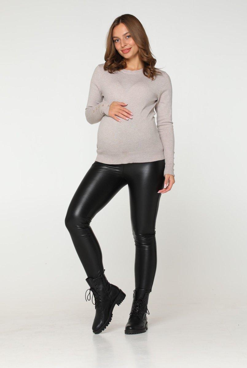 Лосины кожаные для беременных Koln зимние
