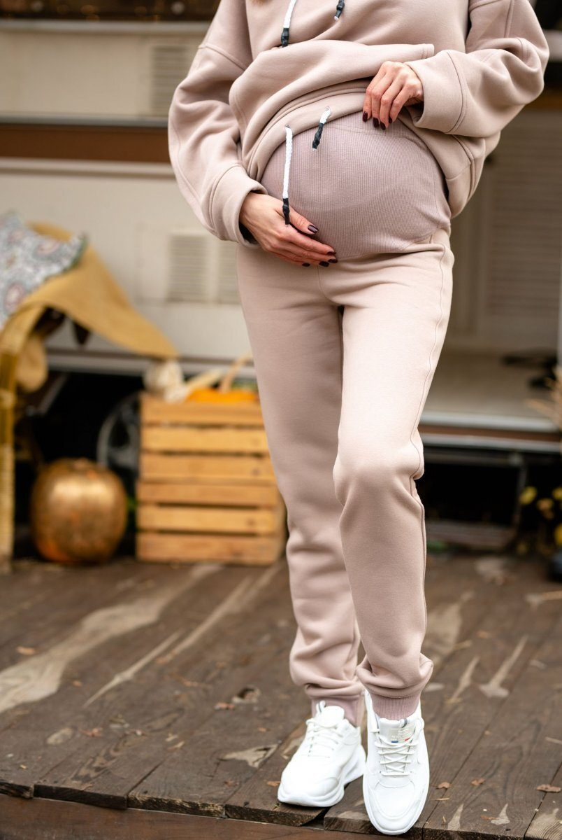 Спортивные штаны для беременных Buffalo (зима) бежевый