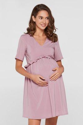 Летнее платье для беременных San-Paulu пудровый