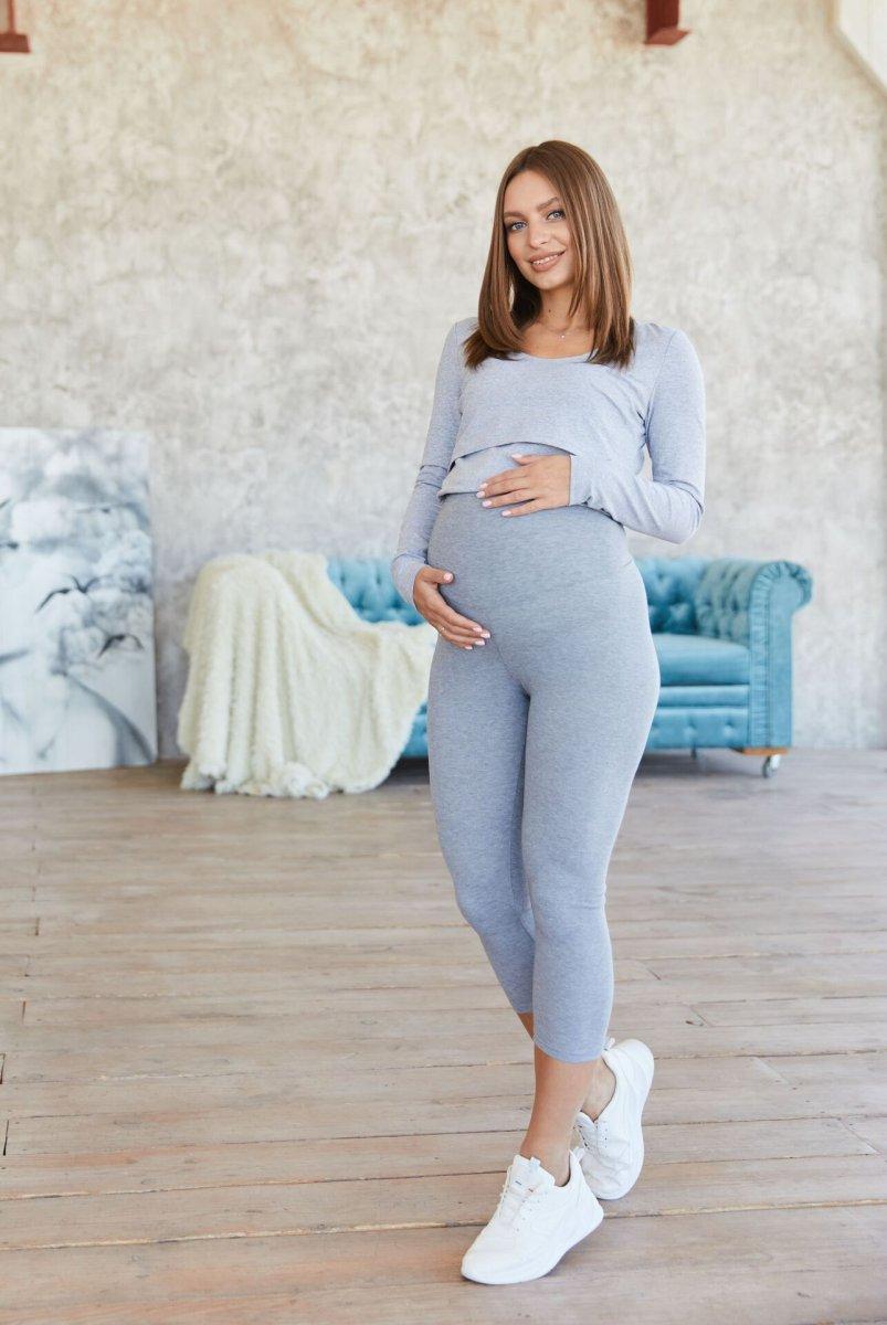Капри для беременных Capri Меланж