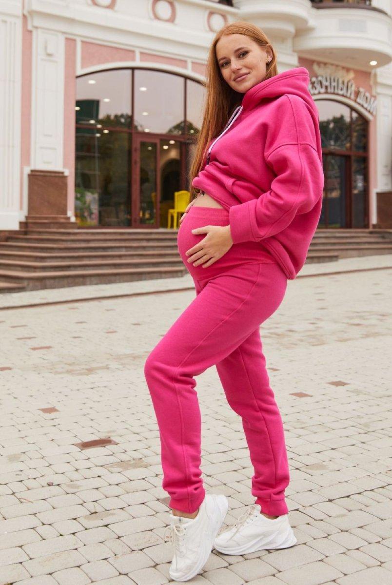 Спортивные штаны для беременных (зима) Buffalo малиновый