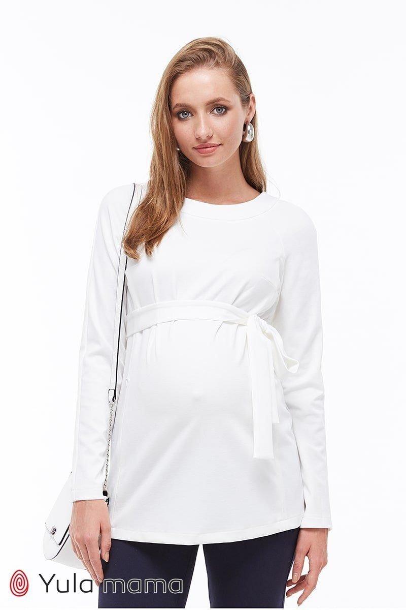 Туніка для вагітних і годуючих Meredith молочна