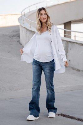 Джинсы для беременных 721414 синий варка 3