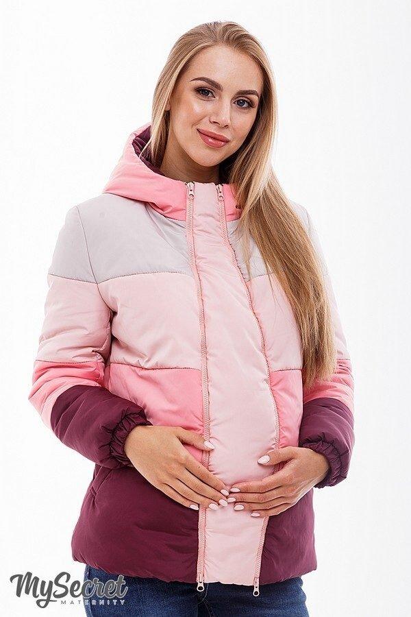 Куртка для беременных марсала sale