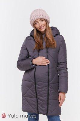 Пальто для беременных Angie графит