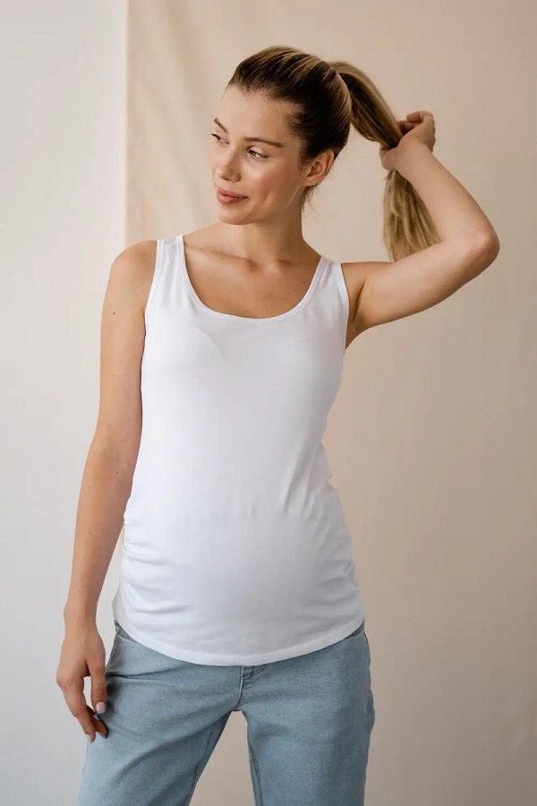 Майка для беременных 863041 белый