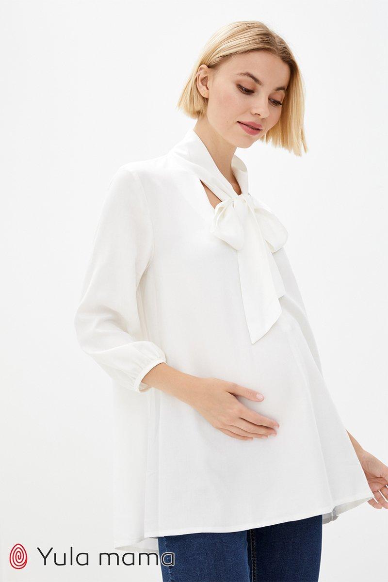 Туніка для вагітних і годуючих Berenice молочний
