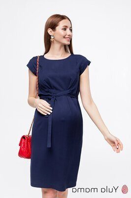 Плаття для вагітних і годуючих Andis темно-синій