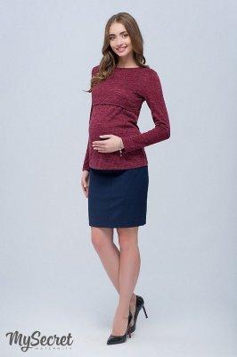 Юбка для беременных Alma темно-синий sale