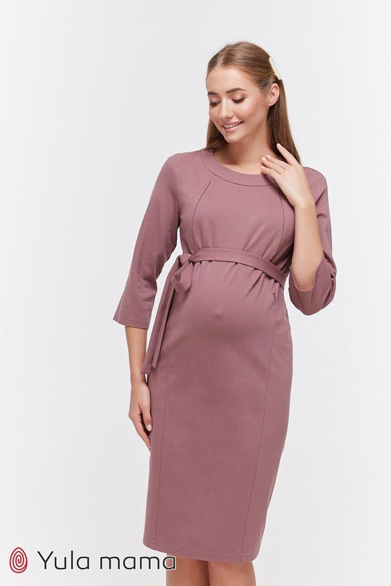 Сукня-олівець для вагітних і годуючих Isabelle фрезовий