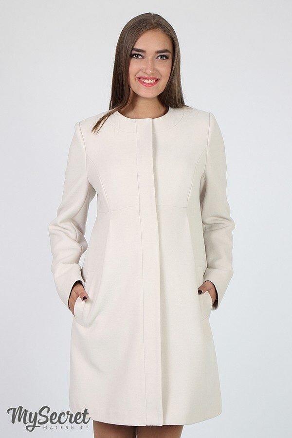 Пальто для вагітних Madeleine бежевий