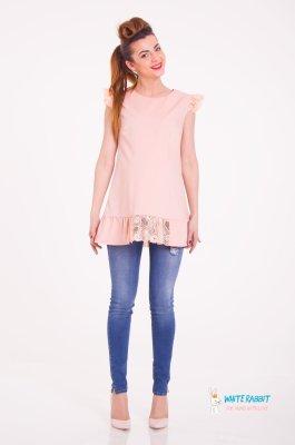 Блуза для беременных Melony (Нежно-абрикосовый) sale
