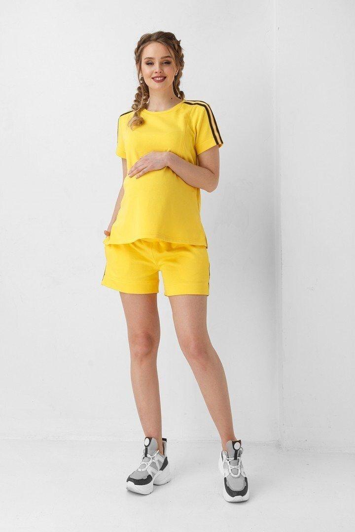 Шорты для беременных 1951 0000 желтые
