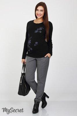 Теплые брюки для беременных Millie серый sale