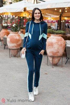 Костюм для беременных и кормящих Deniza темно-синий