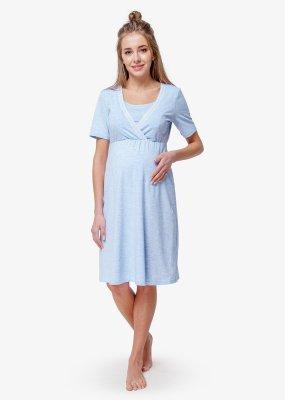 Ночная сорочка в роддом (Blue Coton)