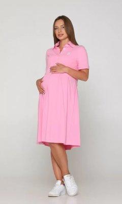 Летнее платье для беременных Polo Sorento розовое sale