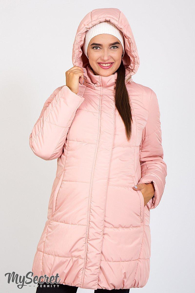 Зимняя куртка для беременных Jena пудра