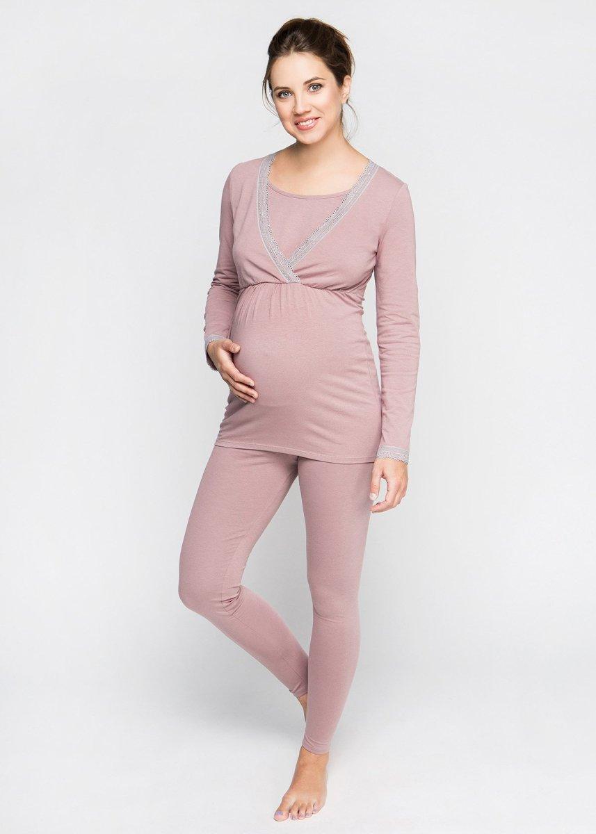 Пижама для беременных и кормящих harmoniya (хлопок)